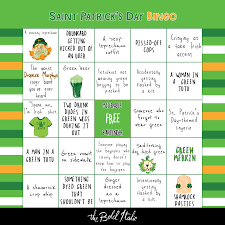 s day bingo your st s day bar crawl bingo card the bold italic