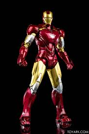 s h figuarts iron man mk 6 with hall of armor photo review the