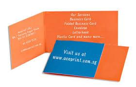Singapore Business Cards Singapore Printing Service Aceprint