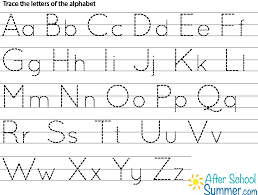 tracing abc letter worksheets best template collection