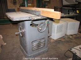 Rockwell 10 Table Saw West Auctions Liquidation Of Furniture Shop Equipment And Tools