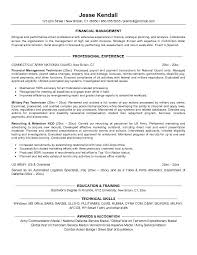 targeted military resume example finance for conversion free