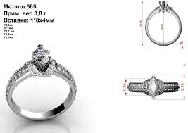 marquise diamond engagement rings luxury marquise diamond ring 3d print model cgtrader
