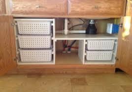 kitchen sink storage ideas best 20 sink storage ideas on 10