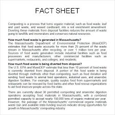 Sheet Template Word Sle Fact Sheet Template 13 Free Documents In Pdf Word