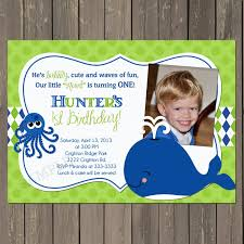 First Birthday Invitation Cards For Boys Amazon Com Whale Birthday Invitation Whale First Birthday Party
