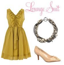 lounge suit wedding dress code image 100807 polka dot bride