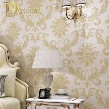Simple European Living Room Design by Dcohom Simple Luxury European Style 3d Wallpaper For Bedroom