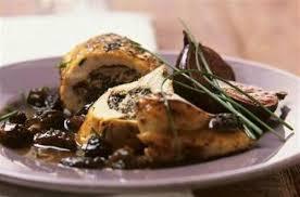 cuisiner des morilles escalopes de poulet farcies aux morilles et aux figues