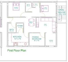 South Facing Duplex House Floor Plans by 30 40 Site House Plan West Facing