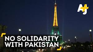 French Flag Eiffel Tower The Eiffel Tower Will Not Light Up For Pakistan Youtube