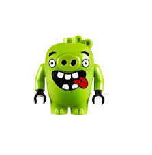 lego the angry birds movie minifigure pig with open mouth ebay