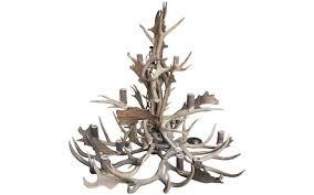 Authentic Antler Chandelier Viyet Designer Furniture Lighting Eclectic Deer And Elk