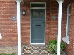modern country style the best grey front door paint colours