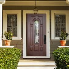astounding home exterior decoration with masonite fiberglass entry