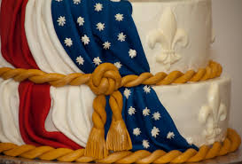 Flag Cakes Eagle Court Of Honor Cake Baked In Heaven