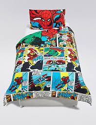 Marvel Double Duvet Cover Marvel Avengers Superheroes Bedding Set M U0026s
