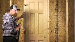 Exterior Solid Wood Doors by How To Install Solid Wood Doors Door Installation U0026 Maintenance