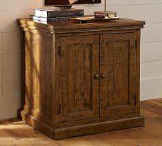 Reclaimed Wood Storage Cabinet Hatton Reclaimed Wood Cabinet Pottery Barn