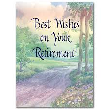 retirement card best wishes on your retirement retirement card