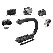 amazon com stabilizers professional video amazon com pro video stabilizing handle scorpion grip for canon