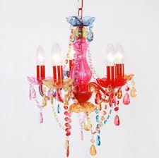 ladario per ragazzi moda moderna multicolor rosa ladario bambini illuminazione per
