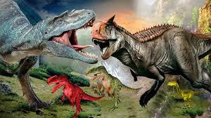 dinosaurs vs t rex movie 3d dinosaurs cartoons for children