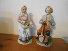 Home Interiors Figurines by Home Interior Figurines Old Man Woman Ebay