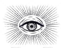 all seeing eye symbol by itskatjas graphicriver
