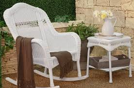 white wicker porch furniture u2013 decoration