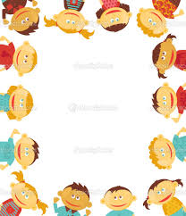 free borders for invitations free borders for word documents children border stock vector