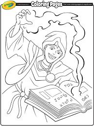 sorcerer coloring page crayola com