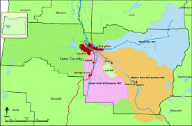 Oregon River Map by Eugene Springfield In Path Of Climate Threats To Upper Willamette