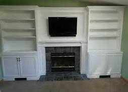 Built In Bookshelves Around Fireplace by 32 Best Tv Cabinets Bookshelves Images On Pinterest Fireplace