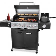 Backyard And Grill by Backyard Grill 72 000 Btu 5 Burner Gas Grill Stainless Steel Shoptv