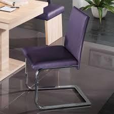 Purple Dining Chairs European Modern Furniture