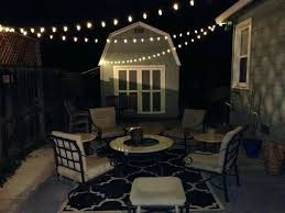 Solar Lights Patio by Solar Outdoor String Lights Patio String Lights Commercial Grade