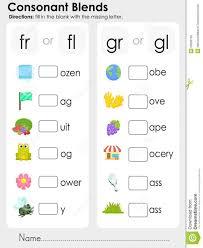 blend worksheets kindergarten koogra