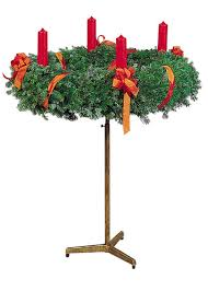 advent wreath stand