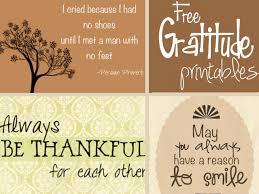 free thanksgiving and gratitude printables