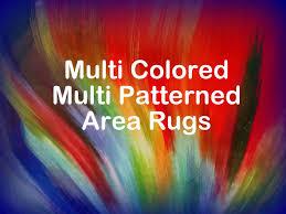 bright multi colored area rugs that add interest u0026 pattern funk