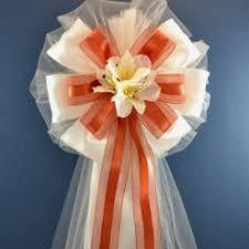 wedding pew bows custom wedding pew bows big event décor
