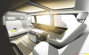 Design Concepts Interiors by 2017 Volkswagen I D Buzz Concept Interior Concept Pinterest