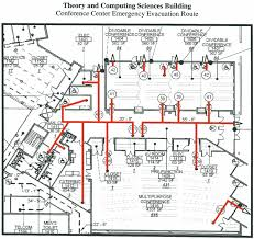 evacuation center floor plan safety emergency theory and computing life sciences conference