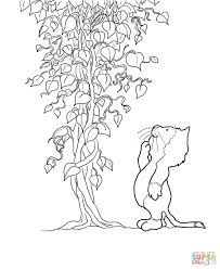 jasper and beanstalk coloring page free printable coloring pages