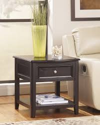 Dark Wooden Table Top End Tables Decorating Theme Featuring Dark Wooden Frames And