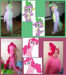 My Little Pony Halloween Costume My Little Pony Homemade Costumes My Little Pony Pinkie Pie Spike