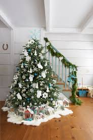 best flocked trees ideas on