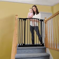 Self Closing Stair Gate by Dreambaby Chelsea Extra Tall Auto Close Security Gate With