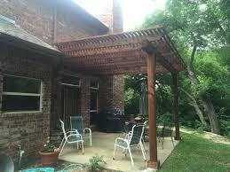 freestanding deck creates new backyard focal point for van alstyne